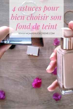 astuces maquillage: Trouver la bonne teinte de son fond de teint